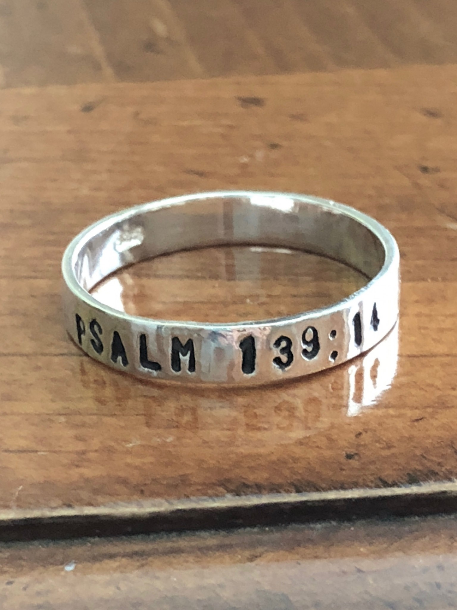personalized scripture ring- bible verse- confirmation ring- milestone ring