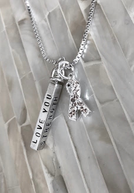 endometrial cancer personalized necklace gift