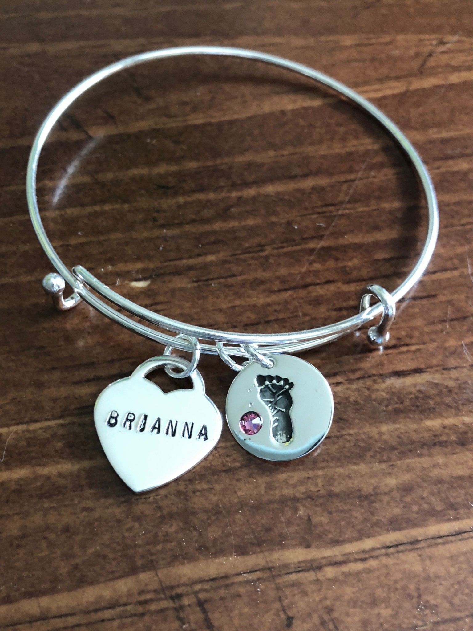 Mother or Grandmother Bracelet- Baby Gift