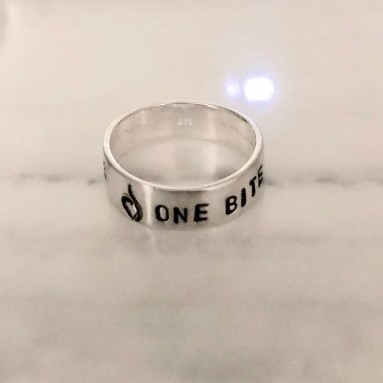 custom eating disorder recovery date ring gift