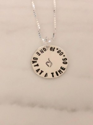 Eating disorder personalized necklace   kandsimpressions