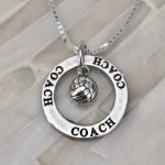 Coaches Necklace- Sports Gift- Coaches Gift