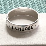 Sobriety ring, addition recovery gift for men
