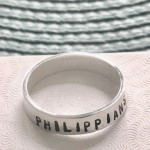 custom bible verse, scripture ring