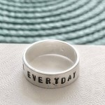 eating disorder ring, recovery gift