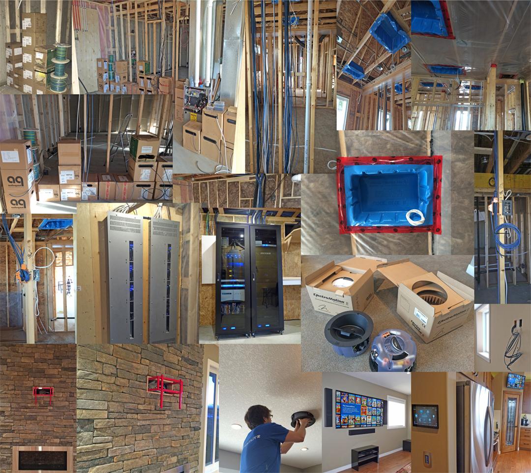 Custom Smart Home Automation Wiring Plan