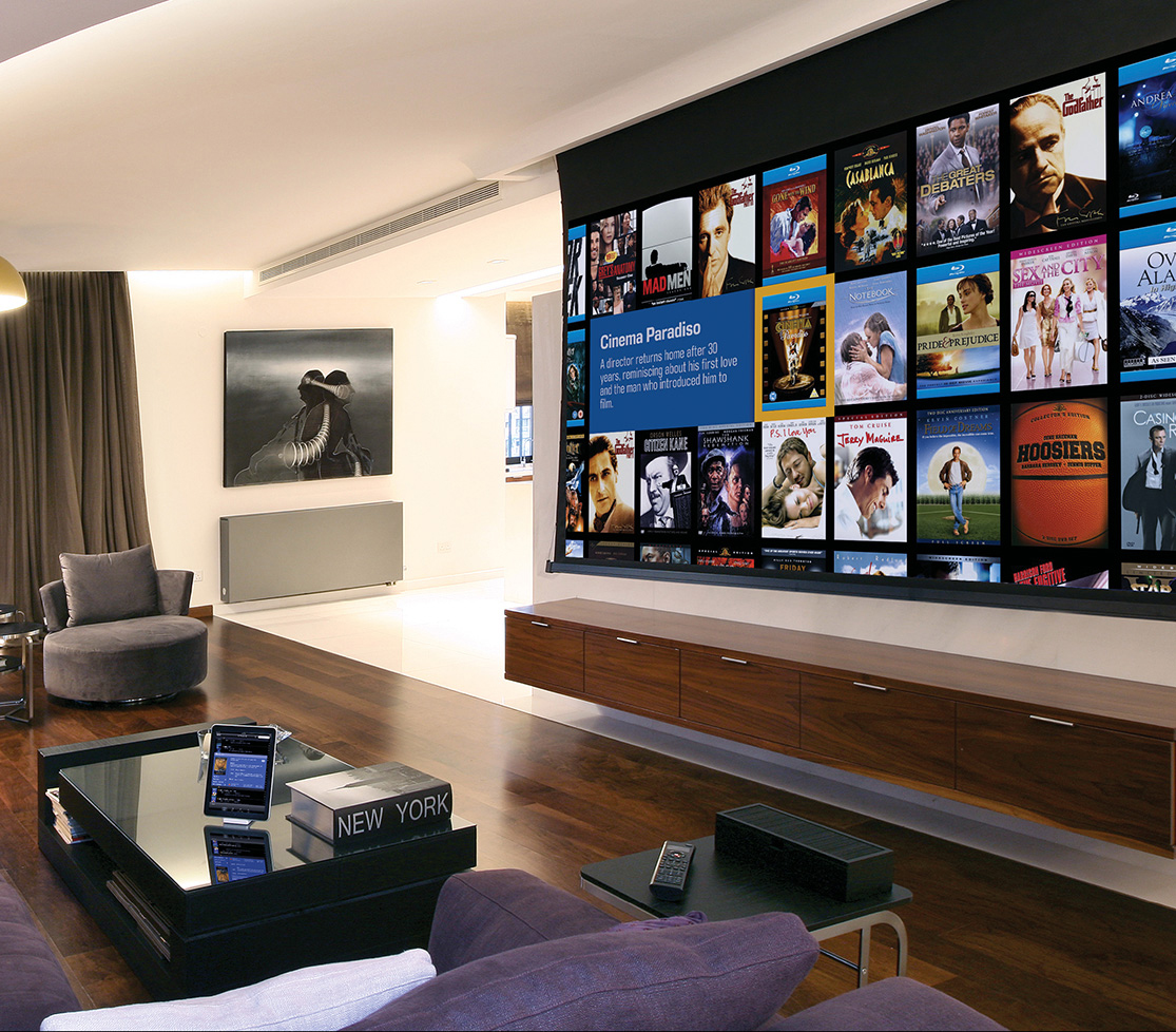 Projector Screen Technology KampW Audio