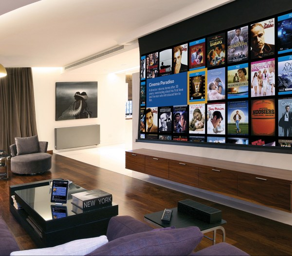 Home Theater Projector Screen TV