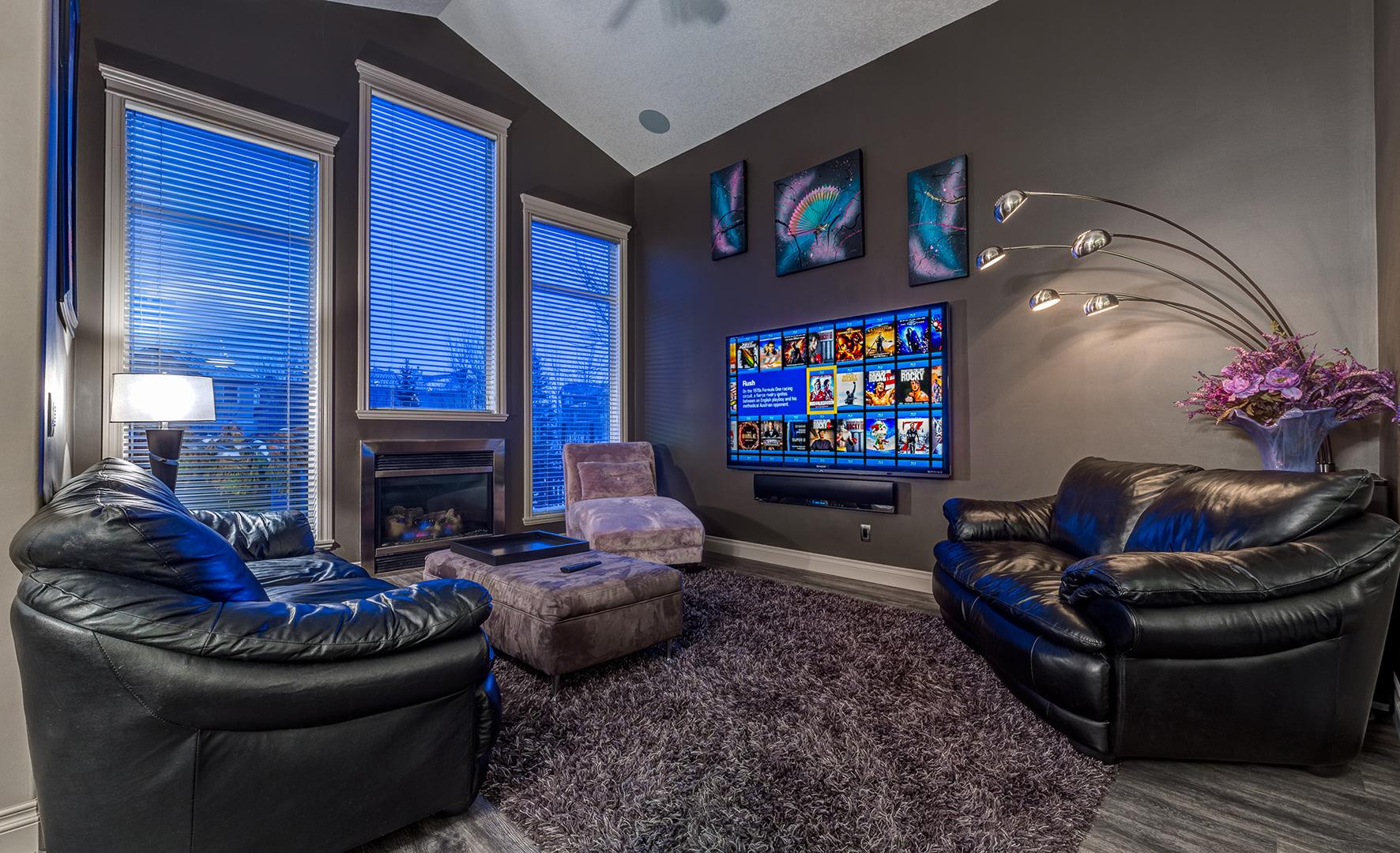 Modern Living Room  KW Audio