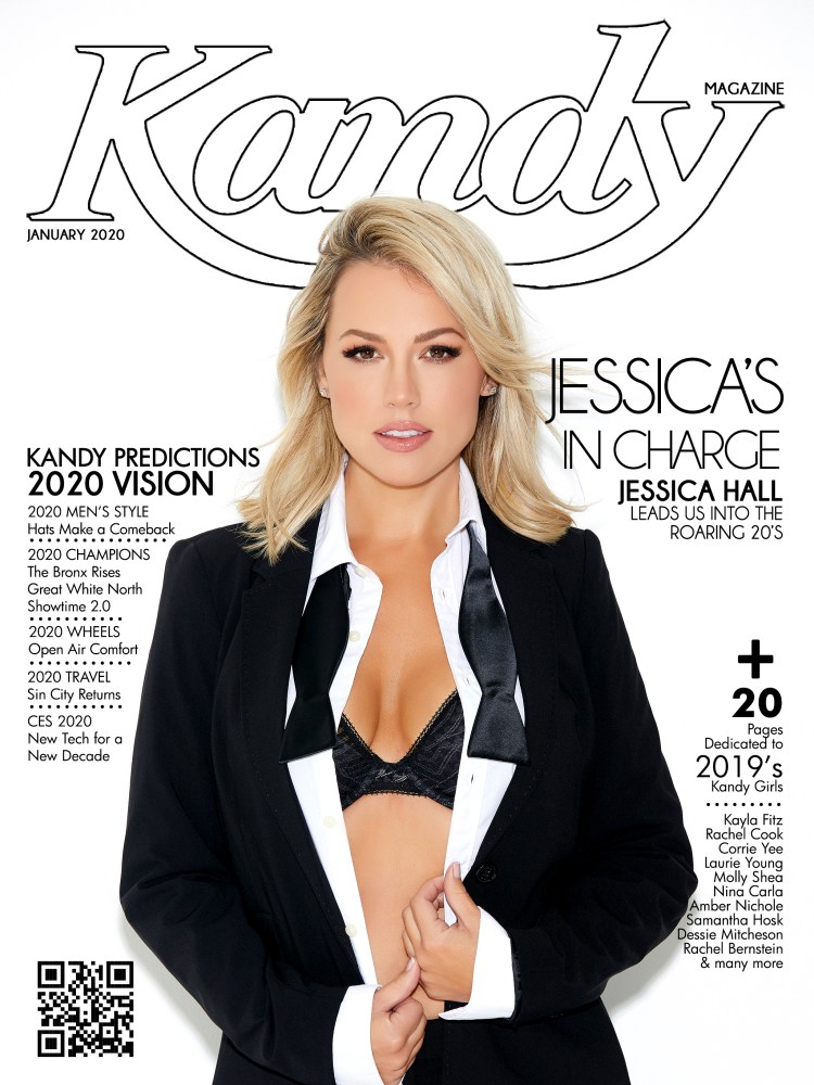 Jessica Hall Cover Kandy Magazine