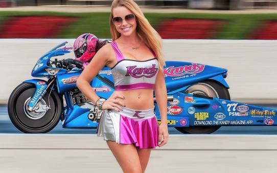 Official Kandy Podcast Episode 11 with NHRA Drag Racer Angie Smith