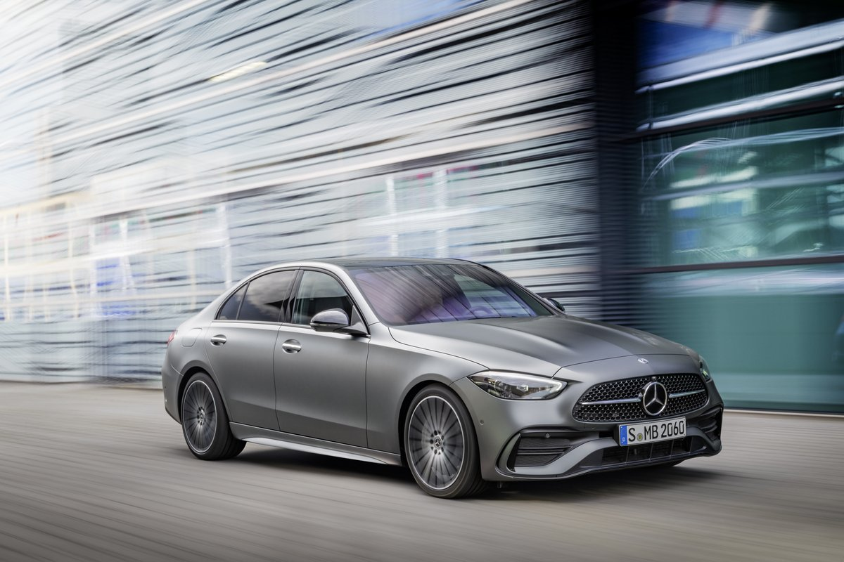 All New Mercedes-Benz C-Class Sedan