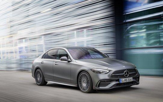The new-generation Mercedes-Benz C-Class Sedan