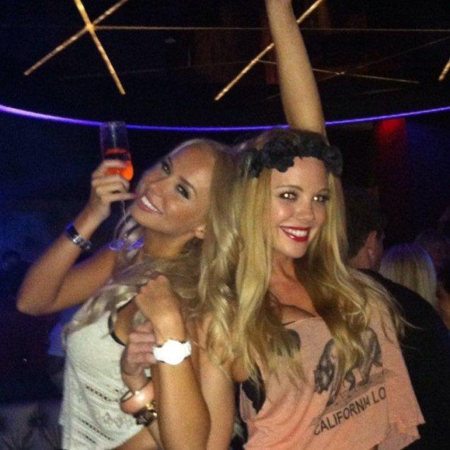 Kandy girls Charlotte Bubble Nightclub