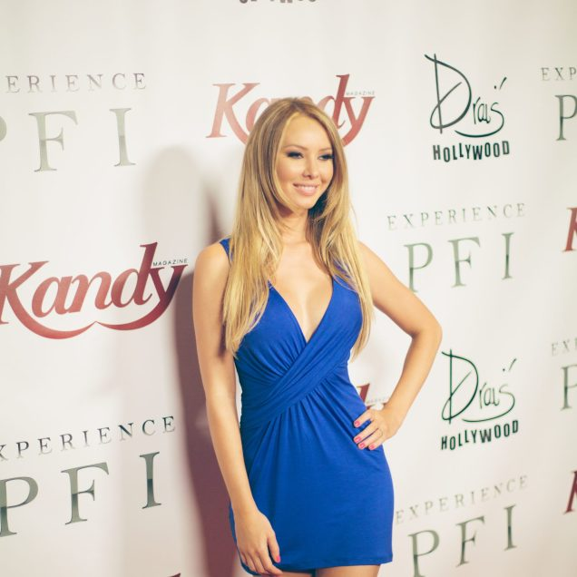 Tiffany Toth Kandy cover girl and Playboy Playmate