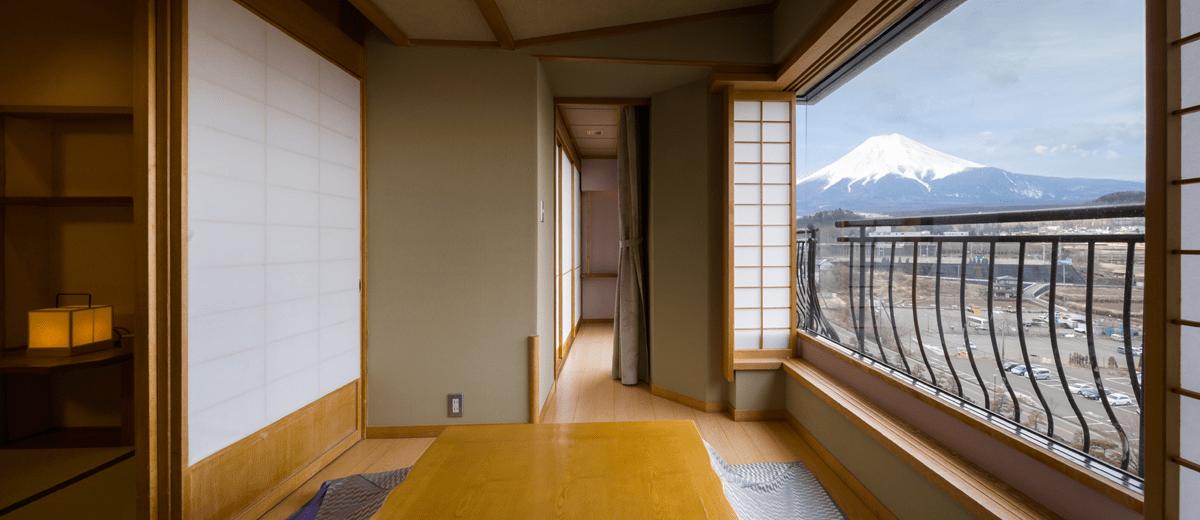 細流亭4號館 お部屋 富士山の見える溫泉旅館。富士山溫泉 ...