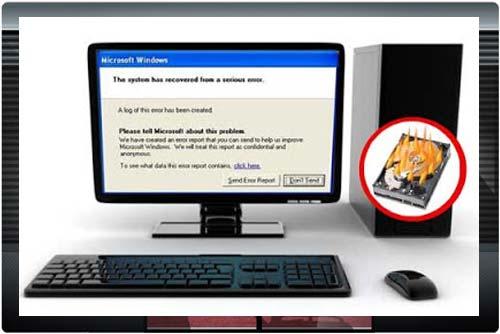 harddisk komputer rusak