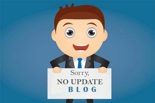 no update blog