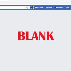 Akses Facebook Via PC blank