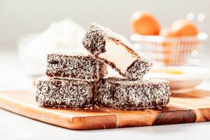 Lamingtons the Craved Desert at Christmas