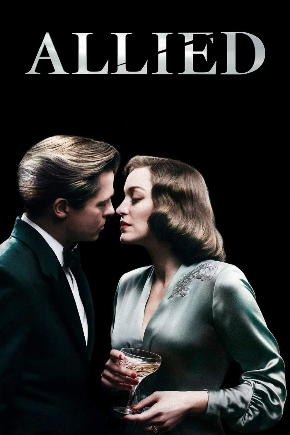 """Poster for the movie """"Allied"""""""
