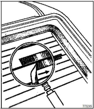 Revue technique automobile Renault Kangoo: Lunette arrière