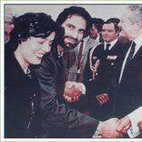 Meeting with President 1999 (1)