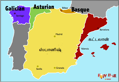 ஸ்பெயின் மொழிகள்