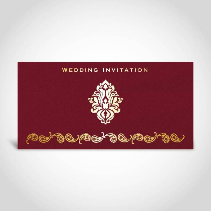 Indian Wedding Card – CFK127