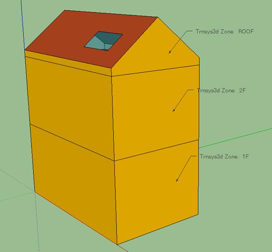 Zoneを作成して、Surface matching、Constructionを設定する