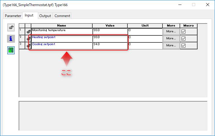 Type166 Inputs