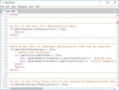 TypeStudioの操作画面