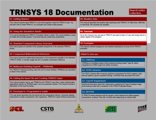 TRNSYS18 Documents
