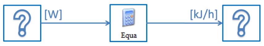Equationで単位換算