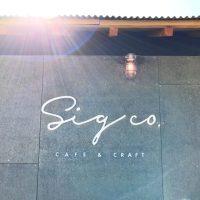 豊浦町小串にある圧倒的ロケーションの珈琲店「sig co. CAFE&CRAFT(シグコー カフェ&クラフト)」