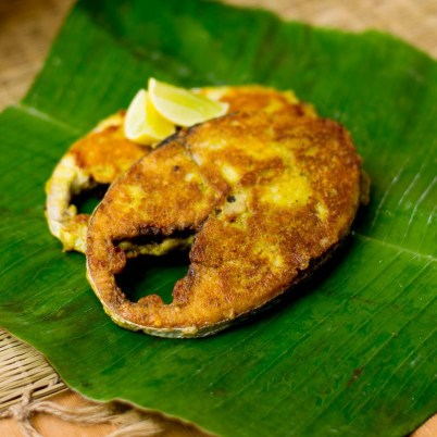 South Indian style Fish fry with coconut