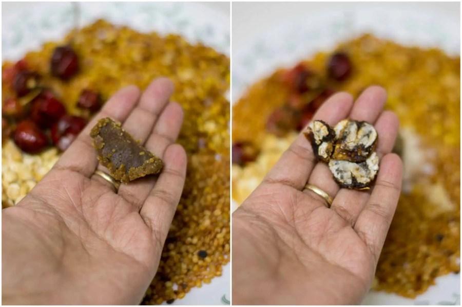 coconut-idli-podi-kopparai-idli-milagai-podi-recipe-7