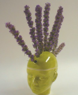 Mohawk Flower Pot