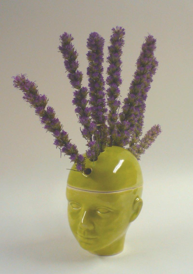 Mohawk Flower Pot