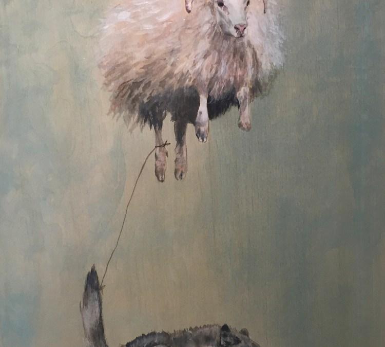 FEY, featuring new works by Jessica Schramm