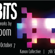 LIT BITS, new works by Kym Bloom