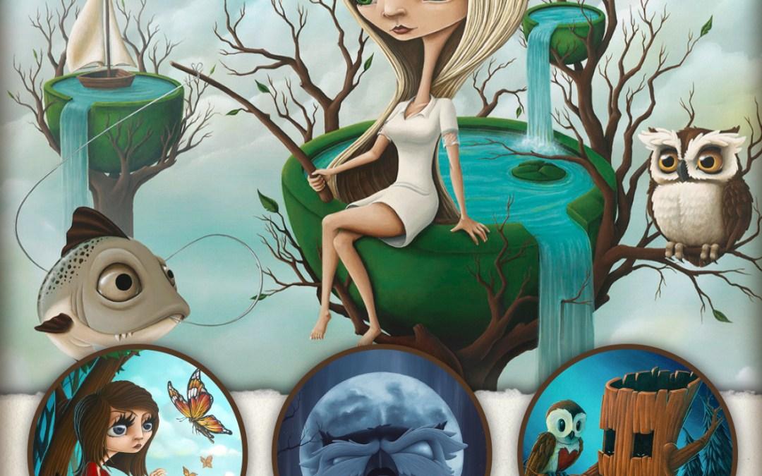 Storyteller, featuring new works by Matthew Clark