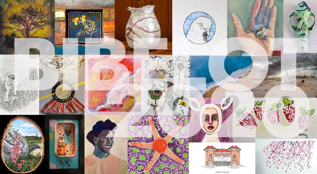 Bibelot art show flyer