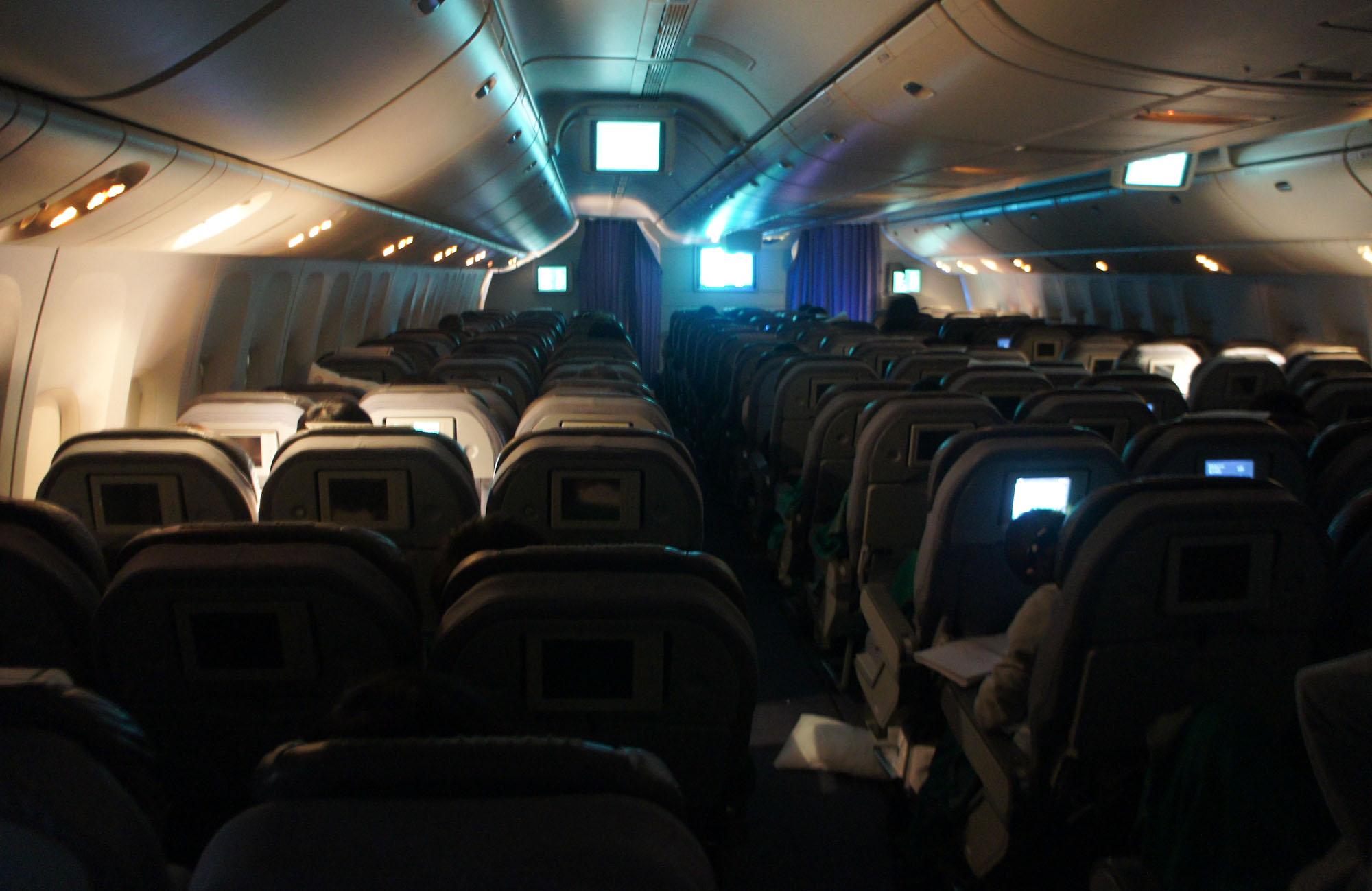 De Paris  Tokyo  un long vol avec escale