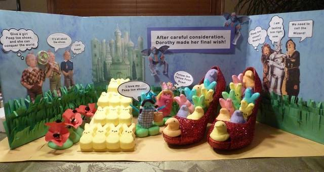 Image result for marshmallow peeps diorama contest
