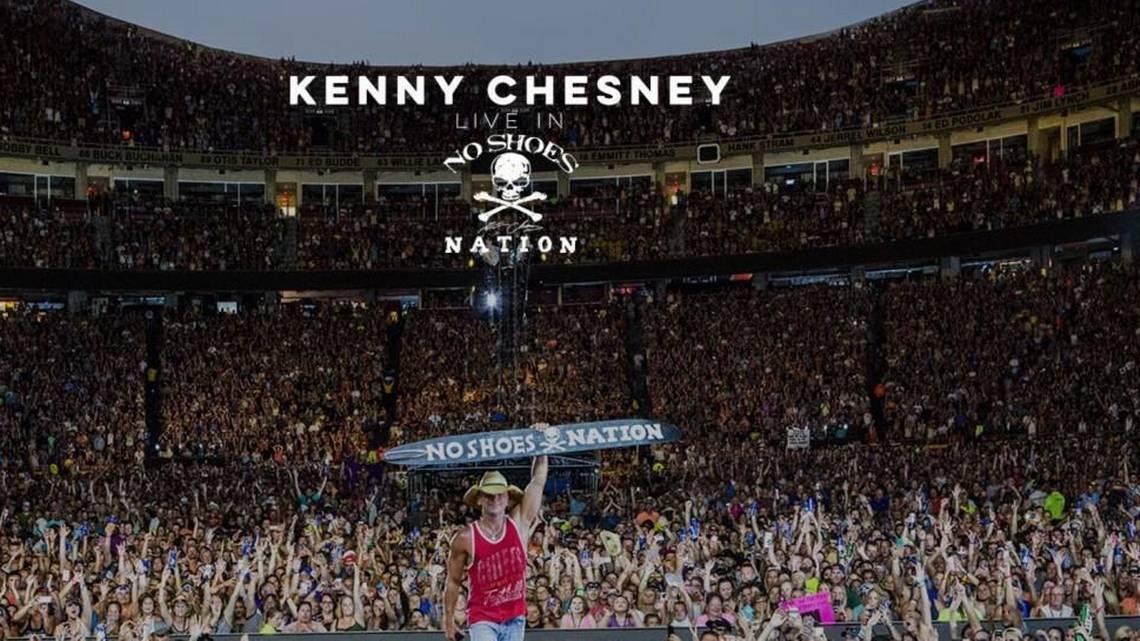 Arrowhead Stadium graces Kenny Chesneys new album cover