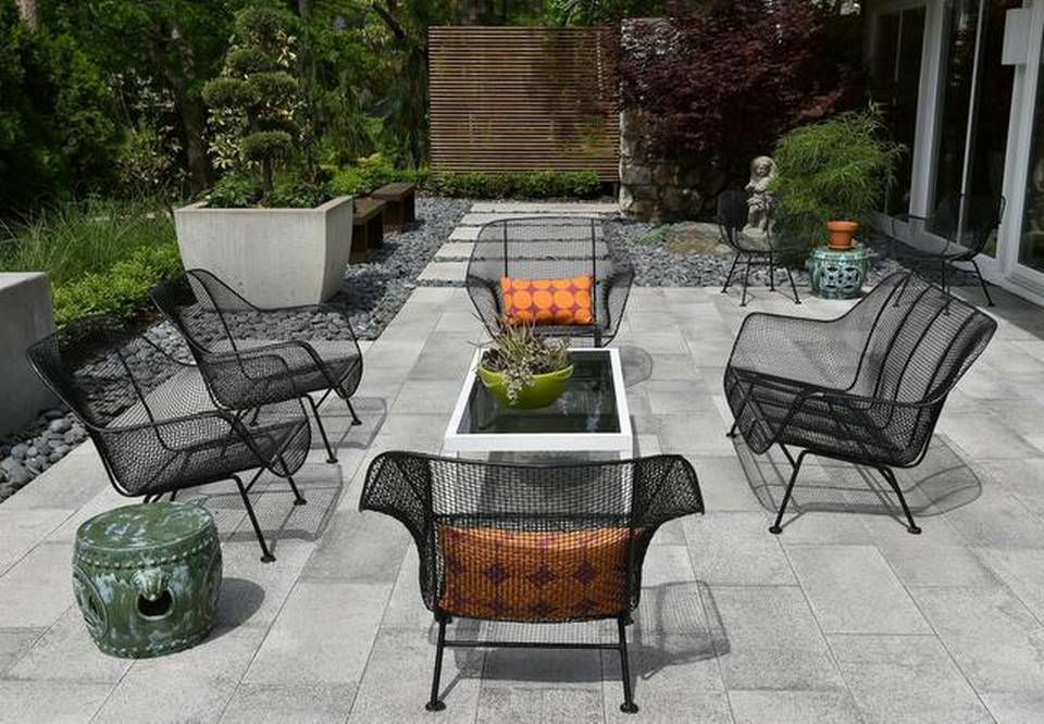 Retro patio furniture is hot this summer  The Kansas City Star The Kansas City Star