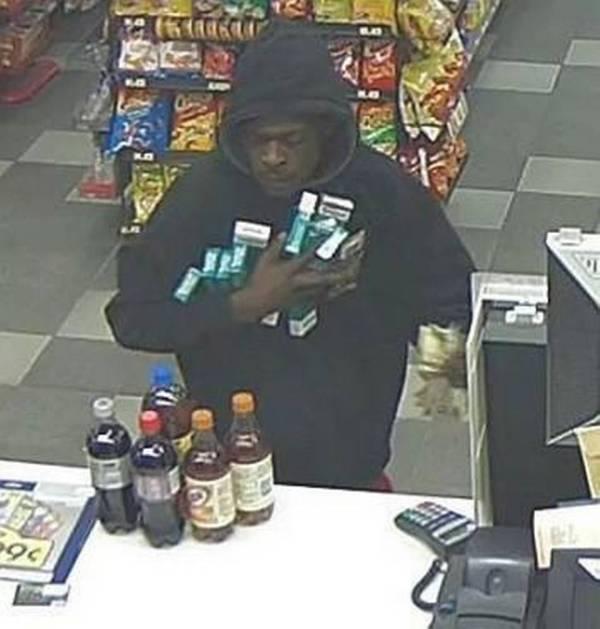 Surveillance Catch Man Suspected Of Robbing Kck