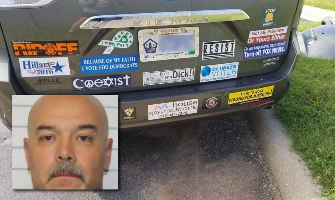 ozark liberal bumper stickers