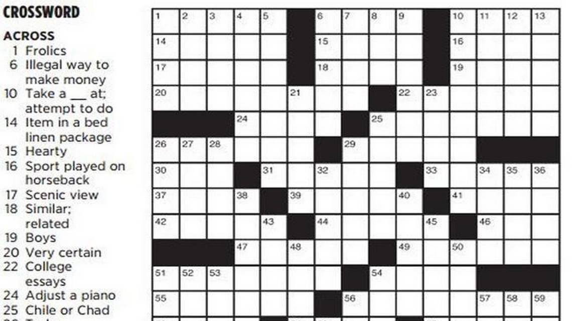 The Star heard you: The daily crossword will be restored